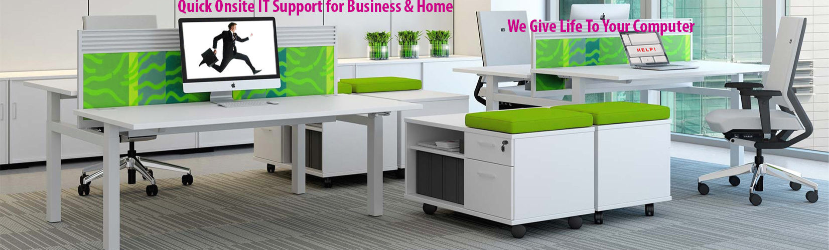 Onsite IT Support Services in Dubai for Business & Home