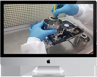 Platter Transplant Data Recovery Dubai UAE