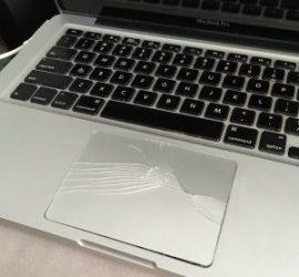 macbook pro swollen battery replacement price in dubai