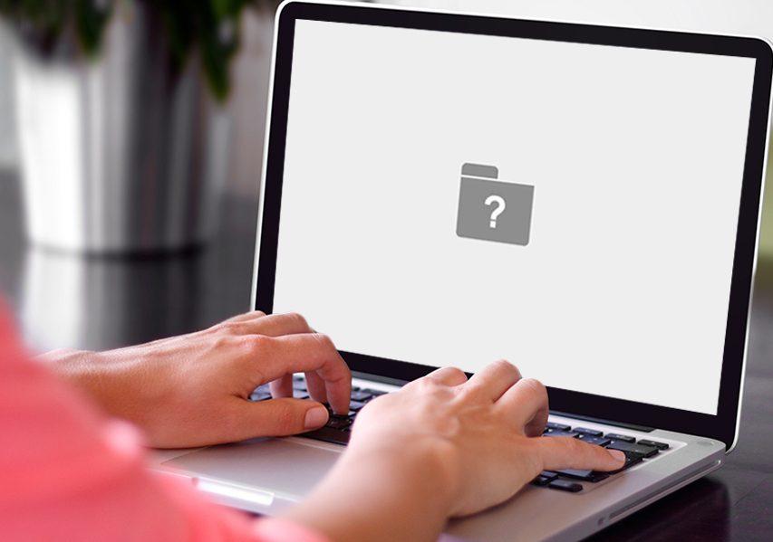 MacBook Question Mark Folder Error Fix dubai
